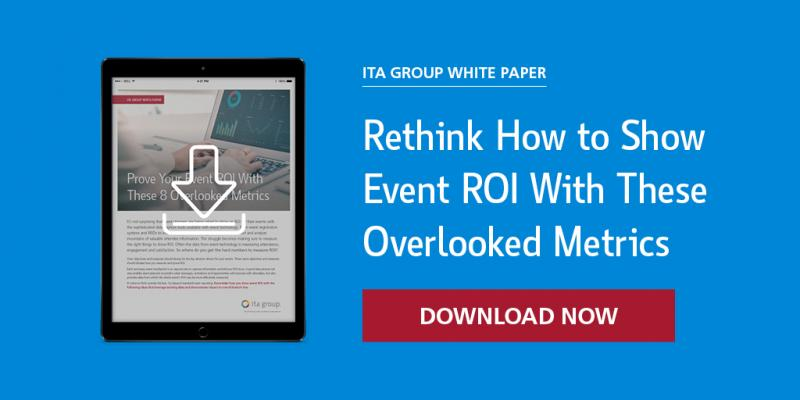 Rethink how to show event ROI with these overlooked metrics white paper